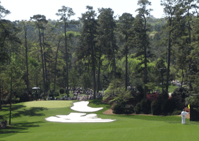 Hole 10 at Augusta National