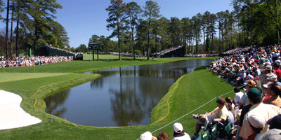 Hole 16 at Augusta National (Image: gomattolson, Flickr)