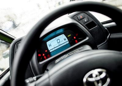 Image of Toyota iRoad interior