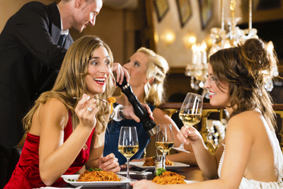 Image of a sophisticated soiree
