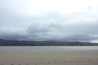 Imageof beach at Portmeirion