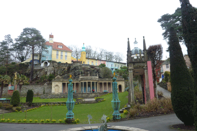 Image of Piazza in Portmeirion