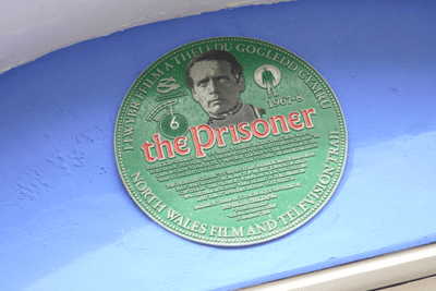 Image of Prisoner plaque in Portmeirion