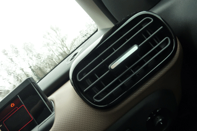 Image of air vent in the Citroen Cactus