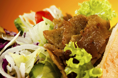 Image of doner meat