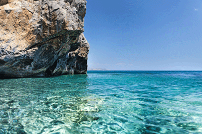 Image of sea in Crete