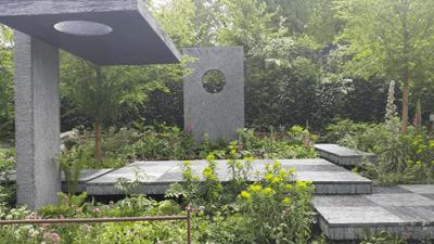 Image of the Brewin Dolphin show garden