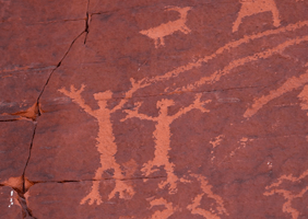 Image of a cave painting