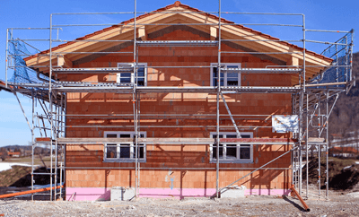 Image of a home under construction