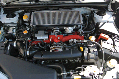 Image of Subaru WRX STI engine