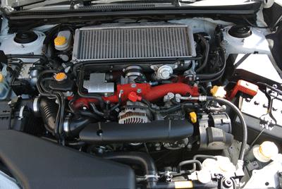 Image of Subaru WRX STI engine