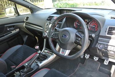 Image of Subaru WRX STI interior