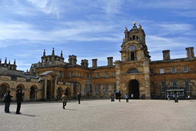 Image of Blenheim Palace courtyard