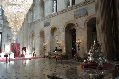Image of interior of Blenheim Palace