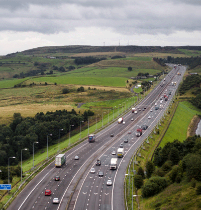 Picture of a motorway