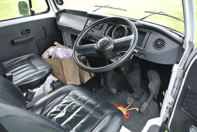 Image of camper interior
