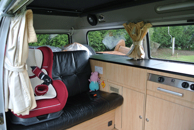 Image of Campervan interior