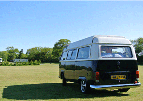 Image of VW campervan