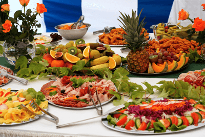 Image of a buffet