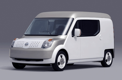 Image of Nissan Beeline concept van