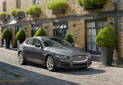 Image of a Jaguar XE
