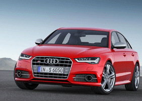 Image of an Audi A6