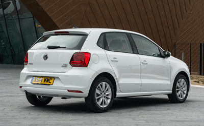 Image of a VW Polo TSI
