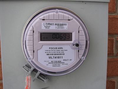 Image of a smart meter