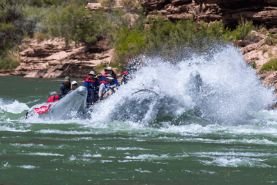 Image of Sean Davies white water rafting