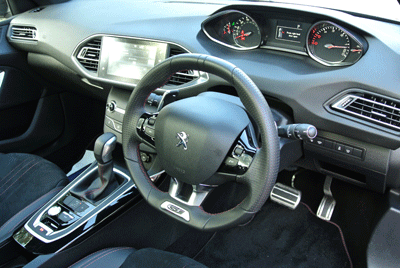 Image of Peugeot 308 interior