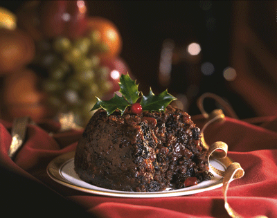 Image of figgy pudding