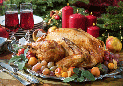 Image of a roast turkey