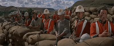 Image of scene from Zulu