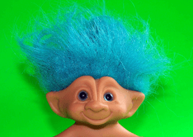 Image of a troll doll