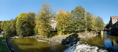 Image of a Akerselva river in Oslo