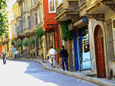 Image of a street in Cihangir
