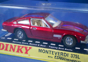 Image of a Dinky Monteverdi 375L coupe