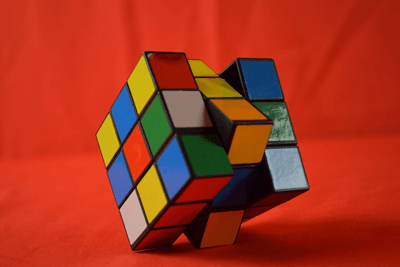 Image of a rubik's cube