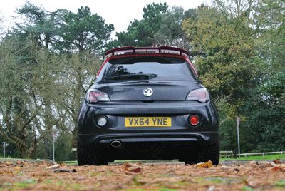 Image of Vauxhall Adam rear shot