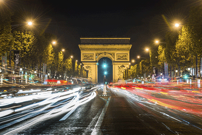Image of the Champ Elysees