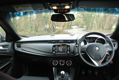 Image of Giulietta interior