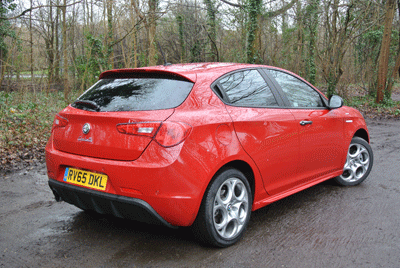 Image of Alfa Romeo Giulietta rear
