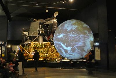 Image of inside London Science Museum
