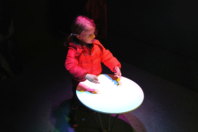 Image of child at London Science Museum