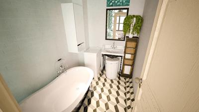 Image of a delightful bathroom