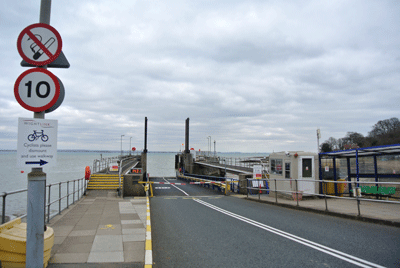 Image of Isle of Wight Fishbourne ferry port