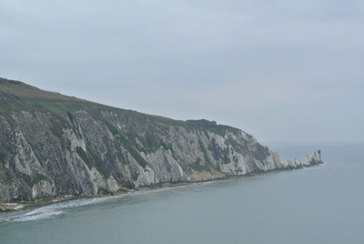 Image of the Needles at the Isle of Wight