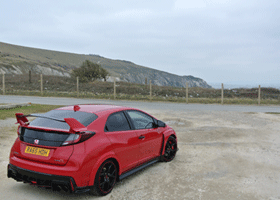 Image of Honda Civic on the Isle of Wight