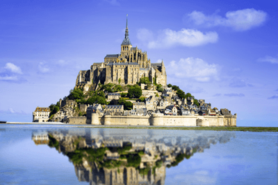 Image of Mont St-Michel in Brittany