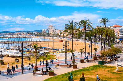 Image of the Costa Dorada in Spain